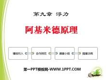 《阿基米德原理》浮力PPT课件5