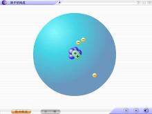 《原子的构成》小粒子与大宇宙Flash动画课件