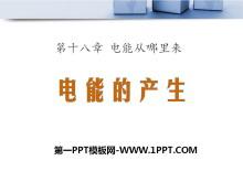 《电能的产生》电能从哪里来PPT课件3