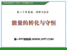 《能量的转化与守恒》能源、材料与社会PPT课件3