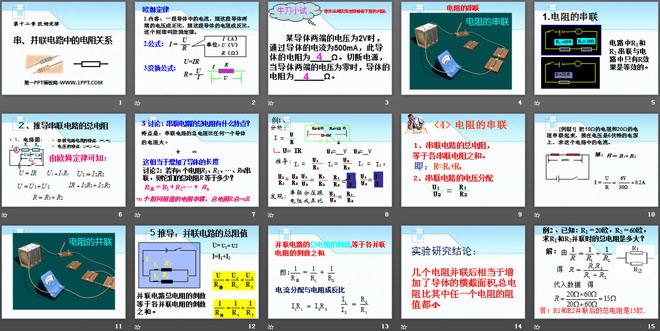 《串,并联电路中的电阻关系》欧姆定律ppt课件5