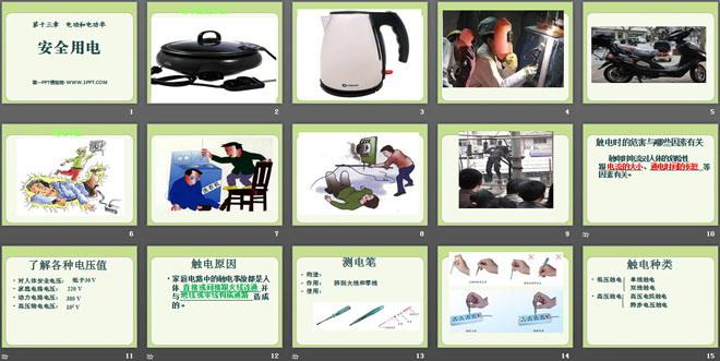 了解各种电压值 对人体安全电压:低于36 v 家庭电路电压:220 v 动力