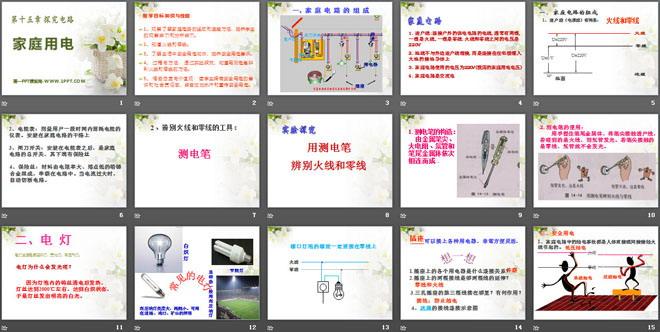 家庭用电 探究电路PPT课件2图片