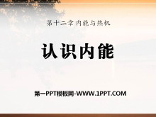 《认识内能》内能与热机PPT课件2
