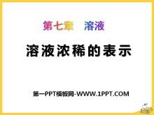 《溶液�庀〉谋硎尽啡芤�PPT�n件5
