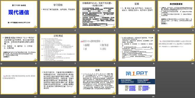《现代通信》电磁波PPT课件