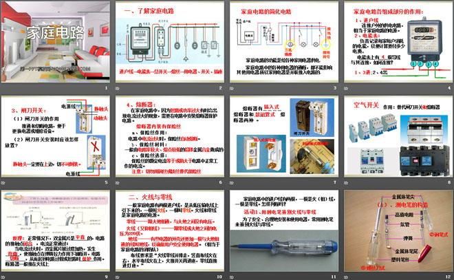 《家庭电路》家庭电路与安全用电ppt课件3
