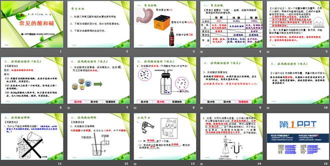 《常见的酸和碱》常见的酸、碱、盐PPT课件