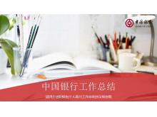 中国银行工作总结PPT中国嘻哈tt娱乐平台