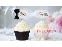 奶油甜点蛋糕背景的美食幻灯片模板免费下载
