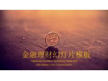 硬币背景的投资理财龙8官方网站