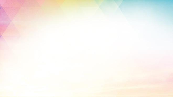 彩色淡雅多邊形幻燈片背景圖片 - 第一ppt圖片