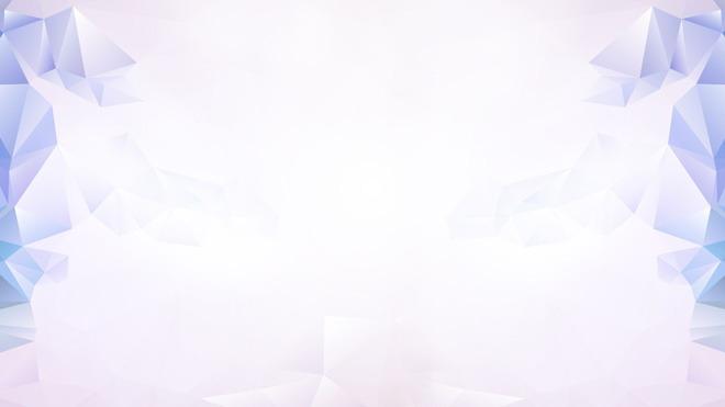 淡雅紫色多边形幻灯片背景图片