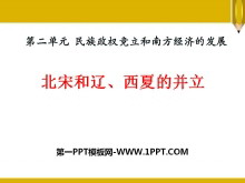 《北宋和辽、西夏的并立》民族政权竞立和南方经济的发展PPT课件2