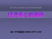 《���重心的南移》民族政�喔�立和南方���的�l展PPT�n件3