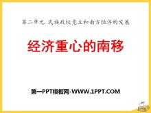 《���重心的南移》民族政�喔�立和南方���的�l展PPT�n件