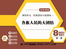 《各族人民的大团结》民族团结与祖国统一PPT课件2