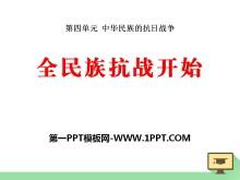《全民族抗�痖_始》中�A民族的抗日���PPT�n件2