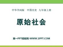 《原始社会》史前时期的人类PPT课件2