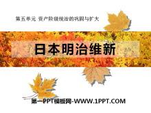 《日本明治维新》资产阶级统治的巩固与扩大PPT课件