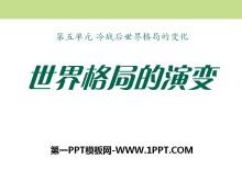 《世界格局的演变》冷战后世界格局的变化PPT课件