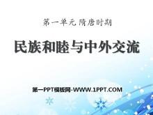 《民族和睦与中外交流史》隋唐时期PPT课件2
