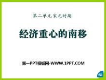 《���重心的南移》宋元�r期PPT�n件2