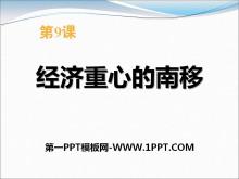 《���重心的南移》宋元�r期PPT�n件3