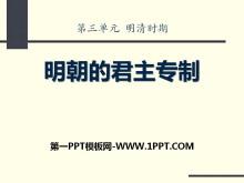 《明朝的君主专制》明清时期PPT课件