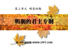 《明朝的君主专制》明清时期PPT课件2