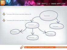清新卡通手绘PPT图表下载