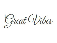 Great Vibes 字�w下�d