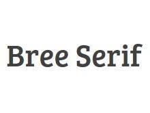 Bree Serif 字�w下�d