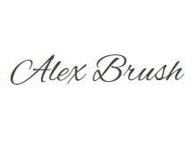 Alex Brush 字�w下�d
