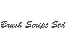 Brush script Std 字体下载