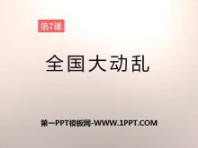 《全国大动乱》社会主义道路的探索PPT课件2