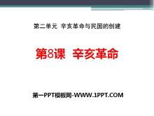 《辛亥革命》辛亥革命与民国的创建PPT课件