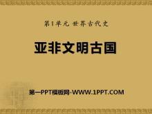 《亚非文明古国》世界古代史PPT课件3