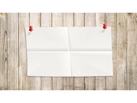 五张精美木板纸张PPT背景图片