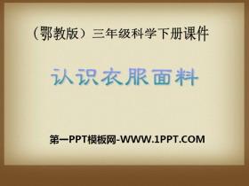 《认识衣服面料》PPT课件2