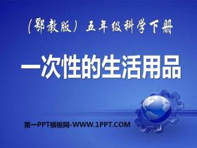 《一次性的生活用品》PPT课件3