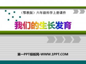 《我们的生长发育》我们居住的星球PPT课件2
