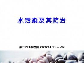 《水污染及其防治》资源保护与环境危机PPT课件2