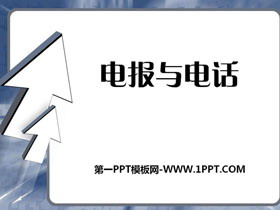 《电报与电话》信息的传递PPT课件