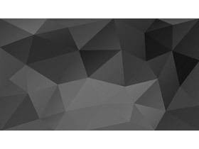 黑色低平面多边形PPT背景图片