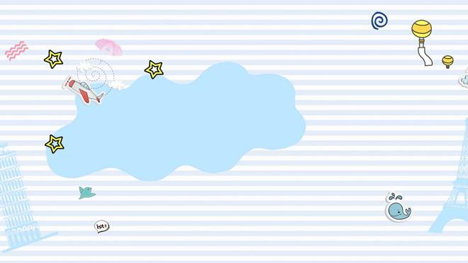 这是六张可爱小动物卡通PPT背景图片,第一PPT模板网提供精美卡通幻灯片背景图片免费下载; 关键词:蓝色条纹幻灯片背景图片,气泡、泡泡、铁塔、斜塔、小飞机、小恐龙、热气球PowerPoint背景图片,.jpg格式;
