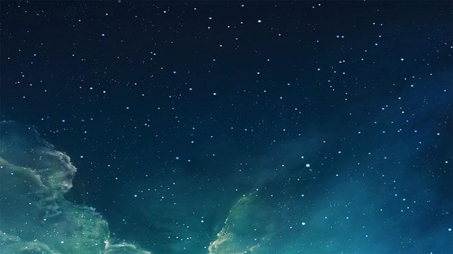 两张唯美星空PowerPoint背景图片免费下载