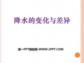 《降水的变化与差异》PPT