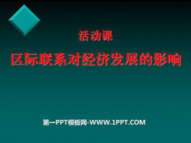 《区际联系对经济发展的影响》PPT课件