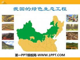 《我国的绿色生态工程》PPT课件